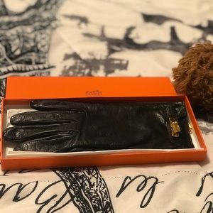 Hermes kelly charm gloves